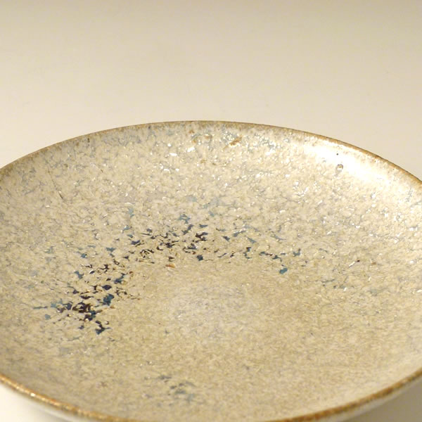 FUYUGINGA MEIMEIZARA (Plate with Winter Galaxy glaze)