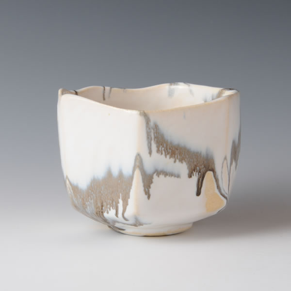 HAKUYU WAN (Bowl with White glaze) Tanba ware