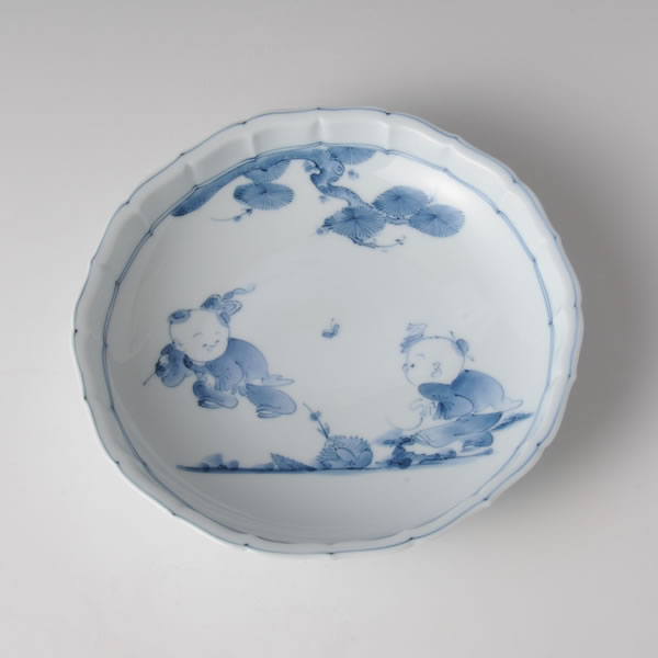 SOSAKUKARAKO KIKYOBUCHI NANASUNHACHI (Bowl by Creation Ancient Chinese Boys)