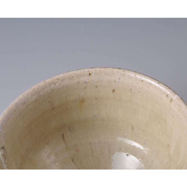 CHOSENGARATSU KATAKUCHI (Two-colored Karatsu ware Spouted Bowl B) Karatsu ware